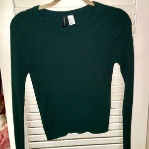 Green Sweater Medium